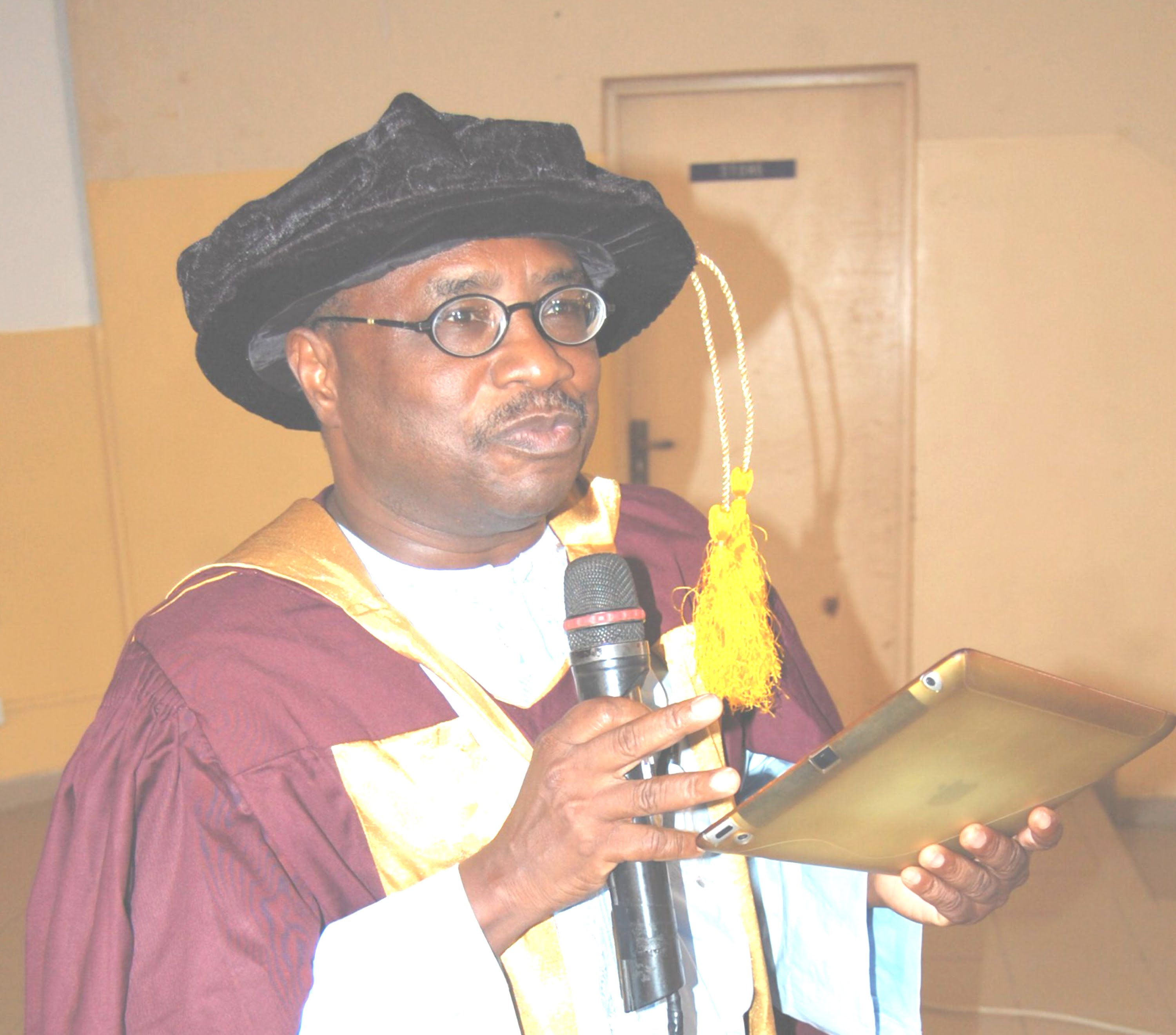 National Open University Of Nigeria Vice Chancellor, Prof Abdalla Adamu