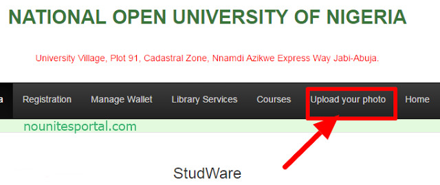 Noun Student ID card Upload your Photo National Open University of Nigeria