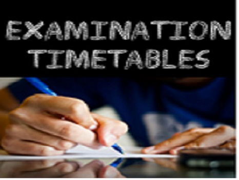 NOUN e-EXAM TIMETABLE