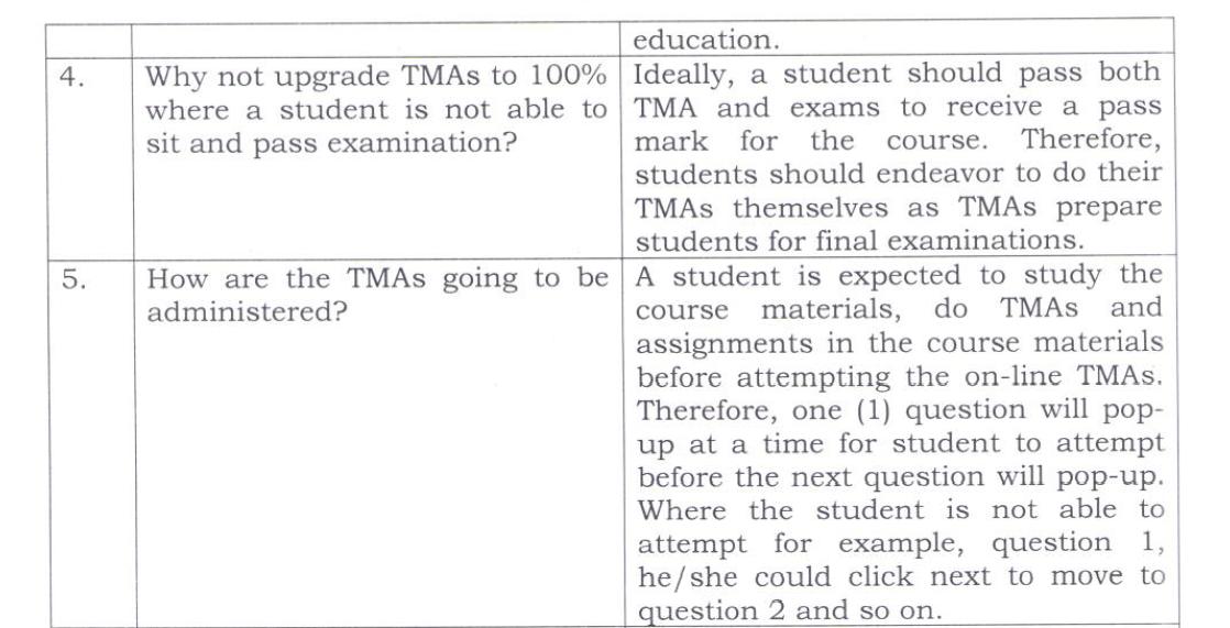 NOUN TMA solution