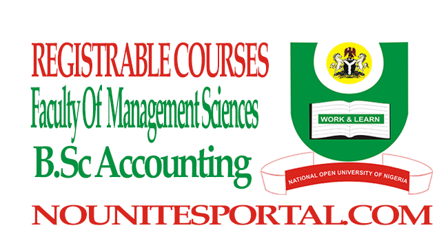 B.Sc Accounting
