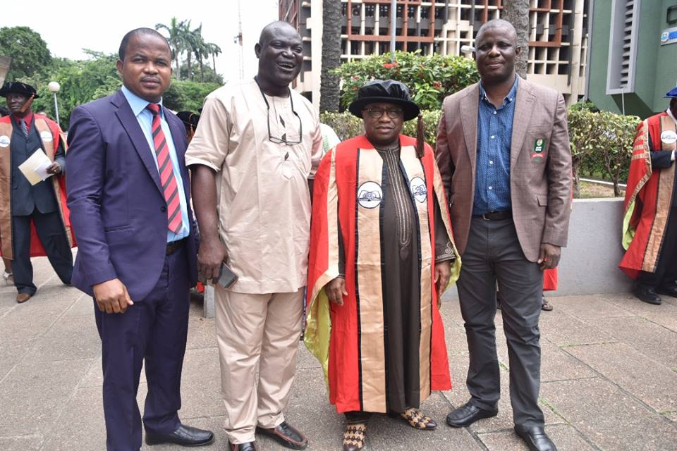 NOUN VC Gets Inducted Into The Nigerian Academy Of Letters