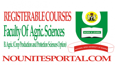 B. Agric. (Crop Production and Protection Sciences Option)