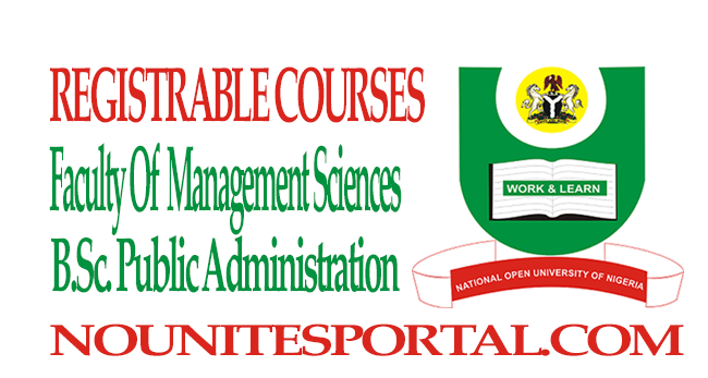 Bsc-Public-Administration