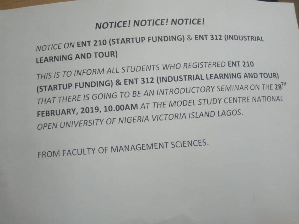ent210 and ent312 1024x768 - Important Notice: Faculty of Management Sciences ENT210 & ENT312
